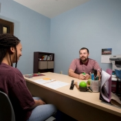 We offer drop-in advising.